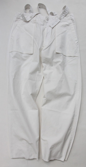 KIFFE Wide Baker Pants WHITE (5)