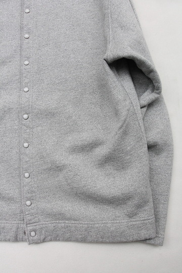Goodon Crew Sweat Cardigan METAL (3)