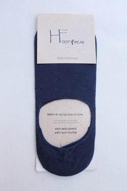 H Footwear Cover Socks Anti Slip NAVY (2)