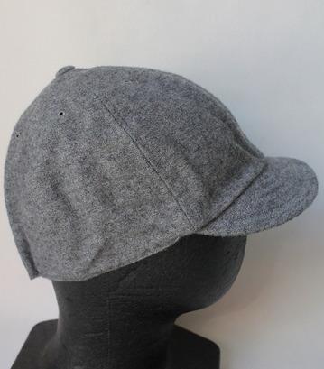 FOB Wool Baker Cap GREY (2)