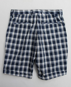 Perfection Cotton Plaid 1 Tuck BLUE Plaid (5)