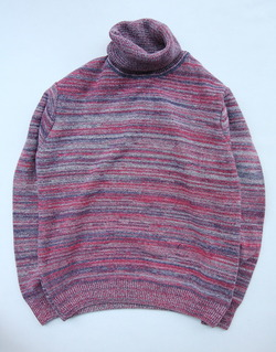 KELE CLOTHING Turtleneck Sweater VD MULTI