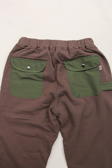 Chums Utility Pocket Pants Sweat KHAKI (3)