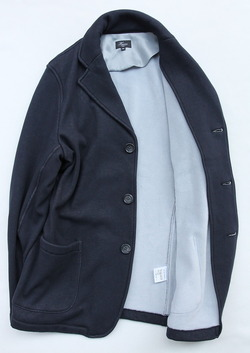Harriss Bomber Heat 3 Button Blazer NAVY (4)