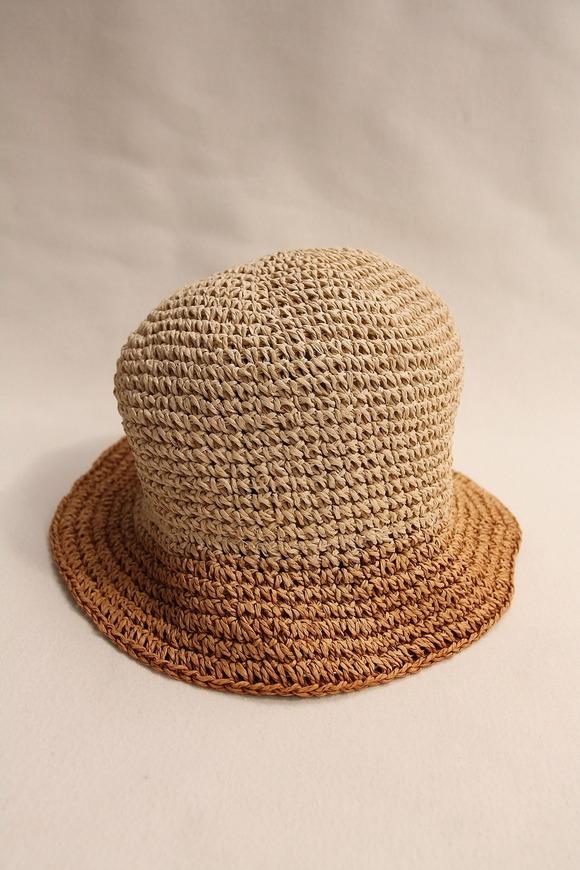 SIGNA 1925 Gradation Paper Hat NATURAL BEIGE