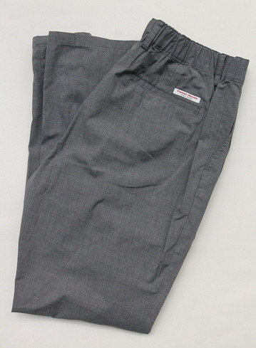 Vincent et Mireille 1 Tuck Pants TC Stretch GRAY