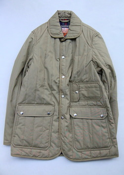 Mighty Mac Quilt Jacket BEIGE