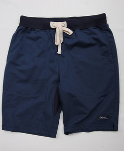 Felco Gym Shorts Mini French Terry NAVY