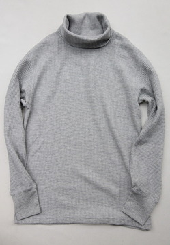 JE MORGAN Thermal Turtle Neck MOKU GREY