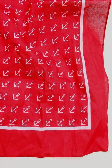 modas Vierecktuch Kleine Purnkle ROT (2)