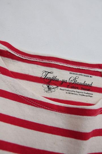TENJIKUYA LS Border Tshirt NTL x RED (3)