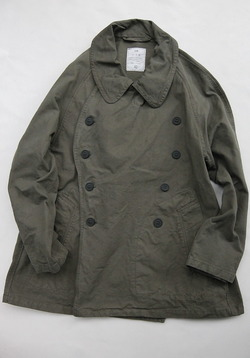 HTS Double Over Coat ARRAS GREEN