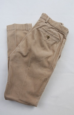 DC WHITE Corduroy Basic Pants BEIGI
