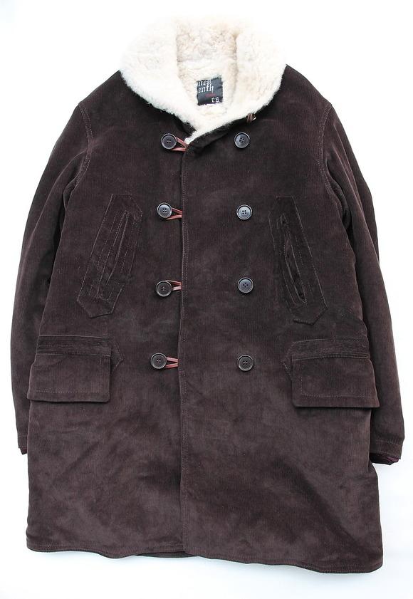 Npenthes Lonodn Corduroy Coat D BROWN