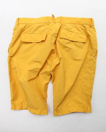 MIDA Nylon Shorts with Liner YELLOW (5)
