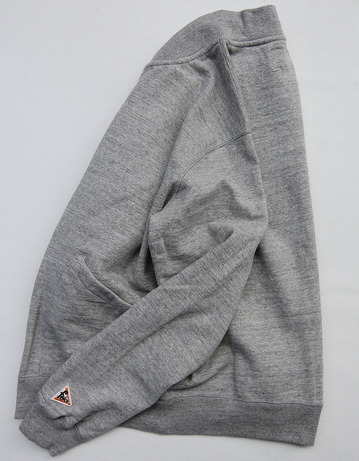 Felco French Terry Award Zipfront Jacket HEATHER GREY (2)