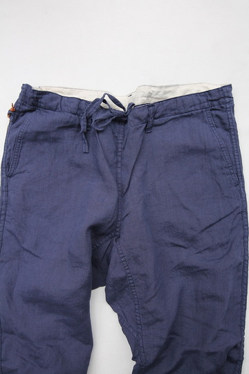 Sunlight Believer Irish Linen Relax Pants NAVY (7)