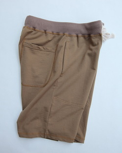Felco Gym Shorts Mini French Terry TAN (3)