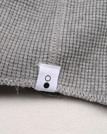 moc T Henry Neck Pullover Loose Fit Waffle (4)