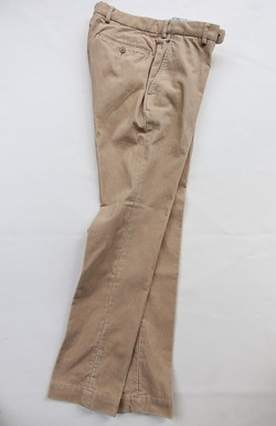 DC WHITE Corduroy Basic Pants BEIGI (2)