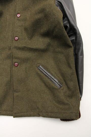 SKOOKUM Sur Coat OLIVE X BROWN (4)