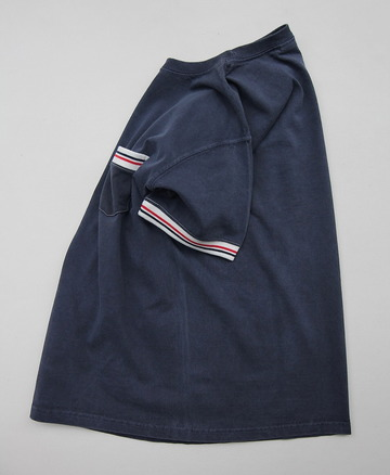 Goodon SS Remake IVY Pocket Tee P NAVY (2)