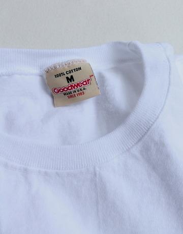 Goodwear Rub Tee WHITE (2)