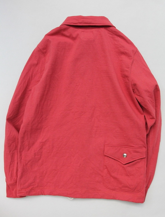 Felco Coach Jacket Supper Hard Jersey FADED RED (6)
