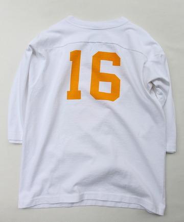 Champion T 1011 34 Football Tee Shirt WISCONSIN 16 WHITE (5)