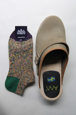 HALISON Marble Slab Anckle Socks (2)