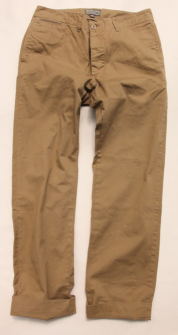 Empire & Sons Work Trouser Vintage Selvage Chino Cloth (5)