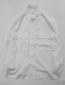 Leciel de Harriss C&C LS Shirt WHITE
