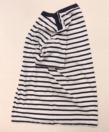 Hairriss Bind Boat Neck Tee WHITE (3)