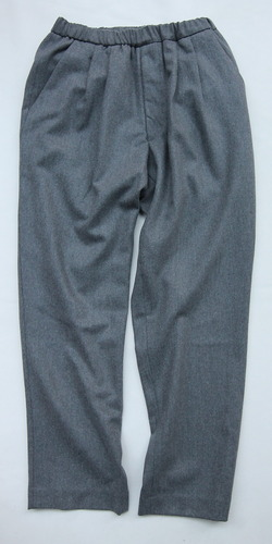 CEASTERS 2Pleats Easy Trousers GREY  by Burel (7)
