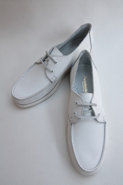 Wandershoes Leather Deck WHITE (3)
