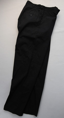 RICEMAN Tapered Pants BLACK (2)