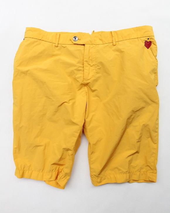 MIDA Nylon Shorts with Liner YELLOW