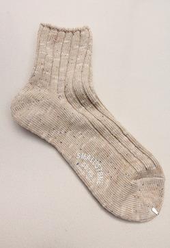 SMALL STONE Socks Cotton Linen Crew Socks MIX (3)