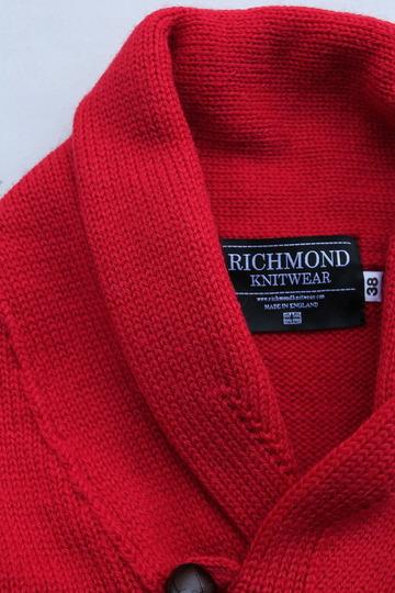 Richmond Knitwear Submariner Shawl RED (2)