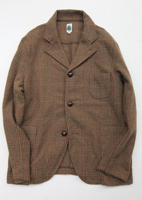 Arbre 07145 Moss Green Check Tweed