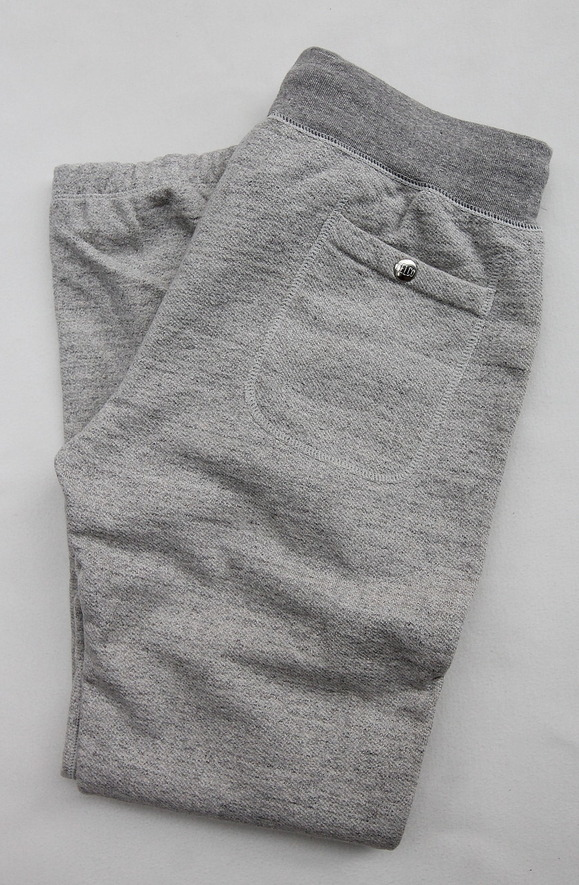 Felco Gym Pants Heavy Weight Terry HEATHER GREY