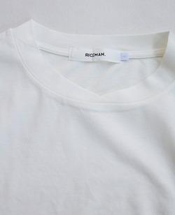 RICEMAN Plain Tee Shirt OFF WHITE (3)
