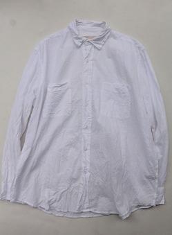 Vasy Lettlement Reglar Collar Oversized Shirt