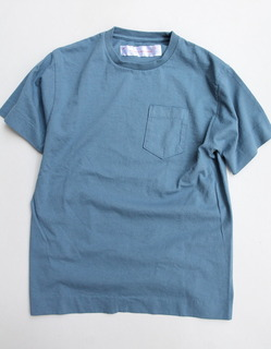 NOUN Pocket Tee SLATE BLUE