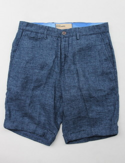 Maison Clocherd Mallard Shorts NAVY