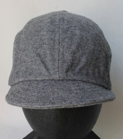 FOB Wool Baker Cap GREY