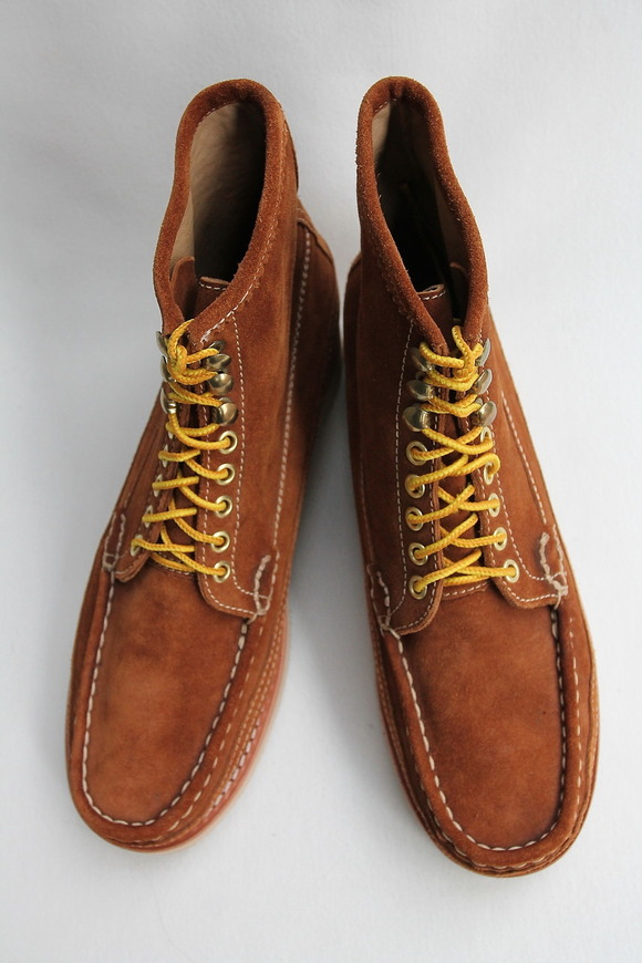 Beautifical English Moc Suede GOLD