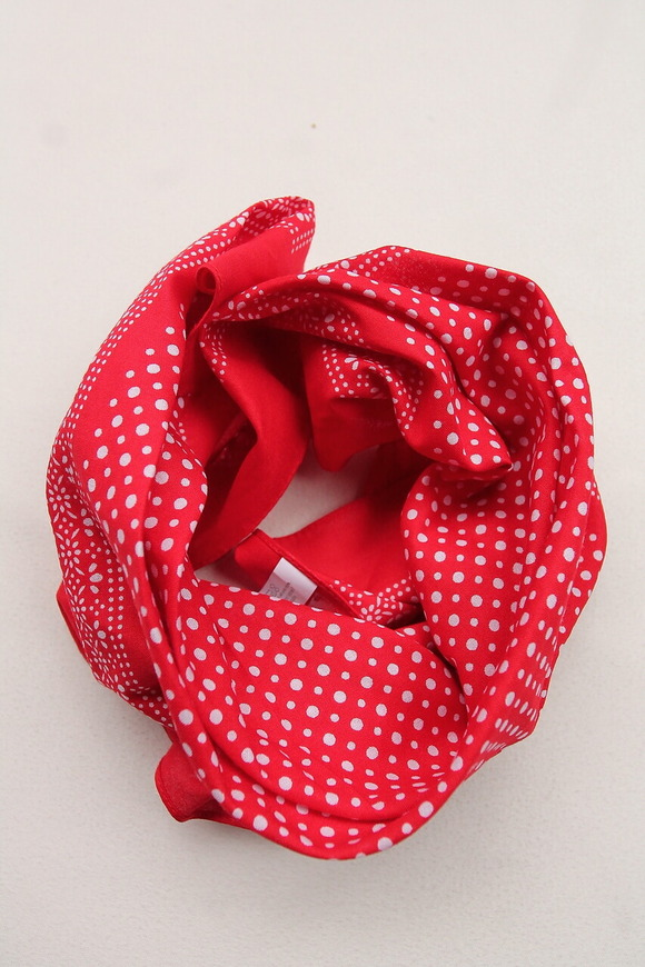 modas Dot Bandana RED