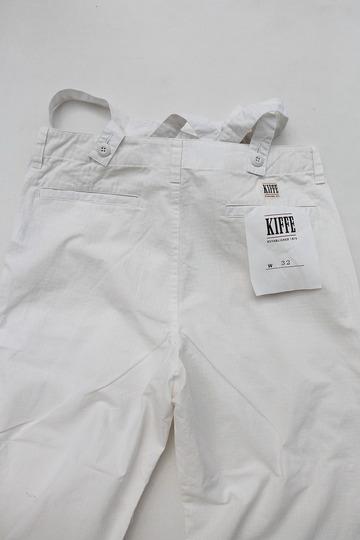 KIFFE Wide Baker Pants WHITE (4)