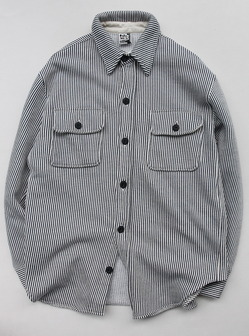 Chums Sweat CPO Shirt HICKORY